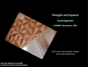 Triangles and Squares
