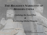 The Religious Narrative of Modern China: Updating the Local Past
