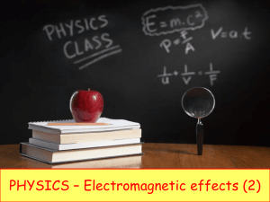 magnetic field - iGCSE Science Courses