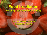 The Facts on Food Irradiation - UW Food Irradiation Education Group