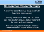 Consent for Research Study A study for patients newly diagnosed