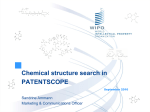 PPT, Chemical structure search