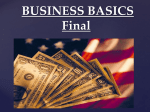 Business Basics PPT - Westmoreland Central School