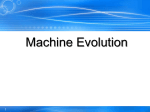 Machine Evolution