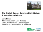 Survivors and Chronic Cancer Patients: The English Cancer