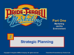 Components of the Marketing Plan