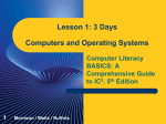 Computers and Operating Systems - Ms. Wade`s Page