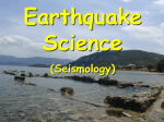 Earthquake intensity, elastic rebound theory and plate boundaries.