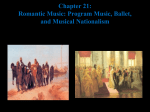 Chapter 12: Romantic Orchestral Music