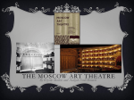 The Moscow Art Theatre - Merrillville Community School