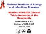 AIDS Clinical Trials Group - HIV Research Catalyst Forum