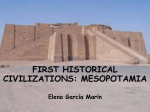 first historical civilizations: mesopotamia