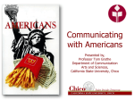 Tom Grothe - Communicating with Americans