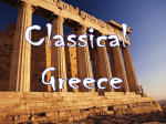 Classical Greece - McKinney ISD Staff Sites