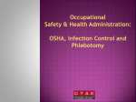 OSH And Infection Control PowerPoint