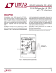 DC1493-LTC2463 Evaluation Kit Quick Start Guide