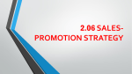 sales-promotion strategy viral marketing