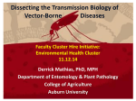 Dissecting the Transmission Biology of Vector