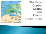 Greece Athens and Sparta ppt - Hewlett