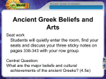 Words Related to Ancient Greek Theater