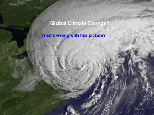 Global Climate Change?