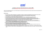 Limitations of Common Information Sources used by UKMi