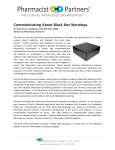 Communicating About Black Box Warnings