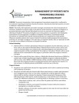 Management of Patients with Transmissible Diseases (Isolation) Policy