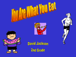 You Are What You Eat Power Point