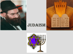 Section One-Judaism - Immaculateheartacademy.org