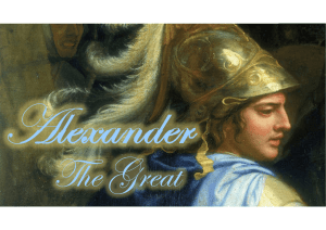 Alexander the Great ppt.
