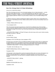 New York, Chicago Claim 5 of Tallest US Buildings