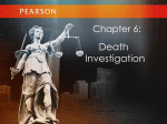 Chapter 6, Death Investigation