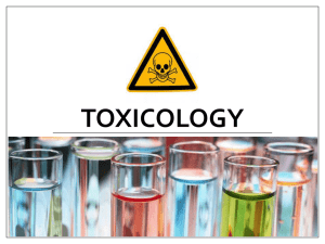Toxicology PPT