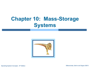 Chapter 10: Mass-Storage Structure
