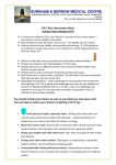 YAC Urinary Tract Infection (UTI) Information Sheet