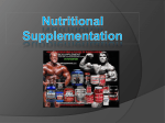 Download: Nutritional Supplementation