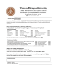 Employer Survey - Western Michigan University