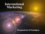 International Marketing - UAA College of Business and Public Policy