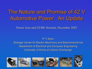 ECE 364 - Power Electronics - CEME Logo Research Projects by Area