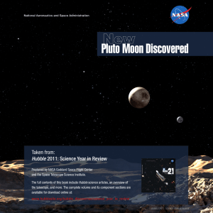 Pluto Moon Discovered