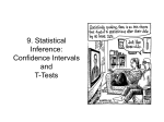 Lecture 9: Statistical Inference