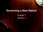 Setting up Governments