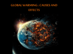 Global Warming : Causes, Effects and Solutions
