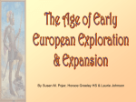 European Exploration PPT