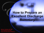 Discharge Summary Tutorial - 1.84 MB