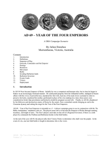 ad 69 – year of the four emperors