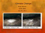 Brief Overview of Climate Change