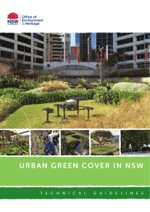 urban green cover in nsw - Adapt NSW