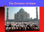 The Division of Islam Muslims…